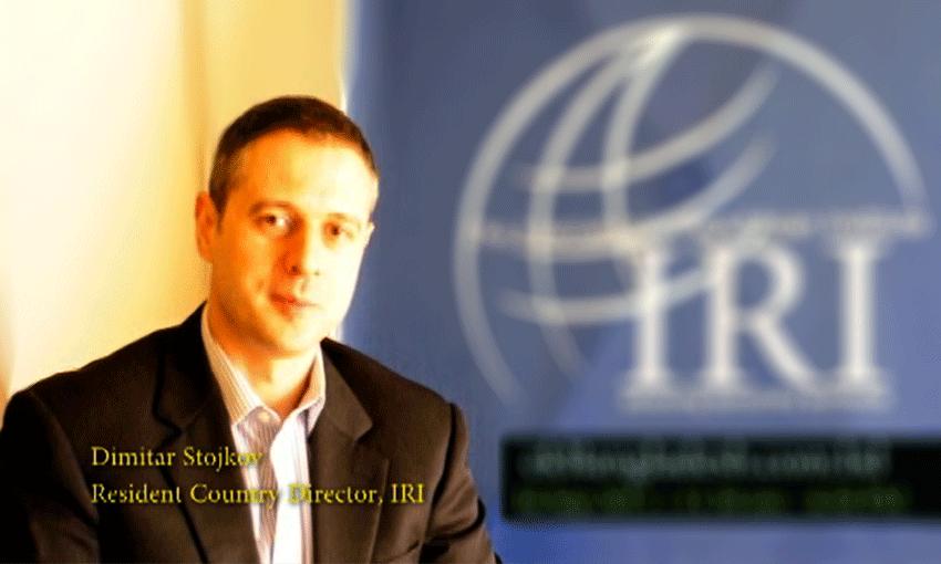 IRI explains its opinion survey at IRI-IID online seminar